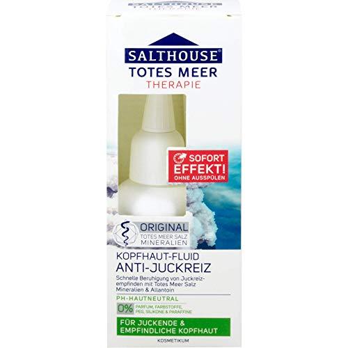 SALTHOUSE Totes Meer Therapie Kopfhaut Fluid, 60 ml Lösung
