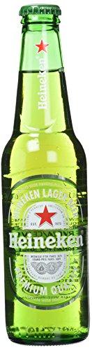Heineken Cerveza - Caja de 24 Botellas x 330 ml - Total: 7.92 L