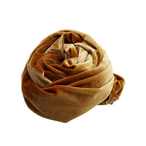 Eleusine Echarpe Femme Châle Emballage Mesdames Velvet Long écharpe enveloppé Foulard (Style 3)