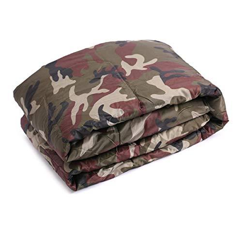 AN-JING Saco de Dormir de Camuflaje Exterior Multifuncional Fuera de la Bolsa de Reposo Individual Saco de Dormir Que acampa de la Humedad Saco de Dormir para Estudiantes Duradero