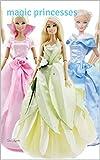 5 vestidos hecho a mano para Barbie princess. Ropa hecha a mano (English Edition)