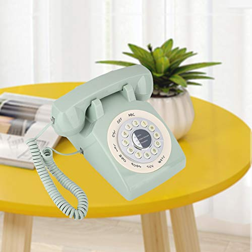 Weikeya TELÉFONO DE Inicio, Sistema DE TELÉFONO DE CORNIONES VENDICIONES Soporte DE Apoyo DE Apoyo con EL TELÉFONO DE LANZARIO DE ABS (Verde)