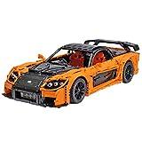 Elroy369Lion Technic Drift Car Building Toys, 3069Pcs 1:8 modello Recing Building Kit e giocattolo ingegneristico, adulto Collectible Sports Car con scala modello motore
