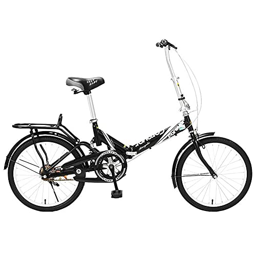 ROYWY Bicicleta Plegable para Adultos, Bicicleta De Montaña De 20 Pulgadas, Velocidad Variable, Plegable, Bicicletas De Carretera, Portátil, Duradera, Bicicleta De Ciudad -B/D