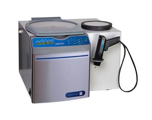 Labconco 7315023 Acid-Resistant CentriVap Benchtop Vacuum Concentrator Complete Package with Heat Boost, Cold Trap, Diaphragm Pump, Rotor, Strobe Light, 1,725 rpm, Glass Lid, 115V, 12Amps