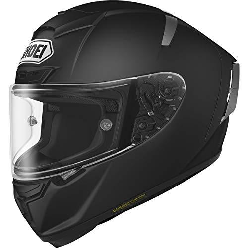 Shoei X-Fourteen Matte Black Full Face Helmet - X-Small