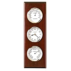 Howard Miller 625-249 Shore Station Weather & Maritime Wall Clock by