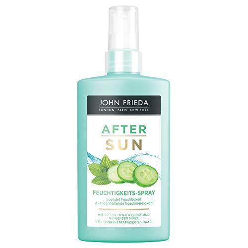 John Frieda After Sun Feuchtigkeits-Spray - Mit erfrischender Gurke und kühlender Minze - Spendet Feuchtigkeit, 150 ml