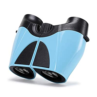 Binoculars for Kids, mixi 10 x 22 Kids Binoculars Toys for Boys Girls High-Resolution Real Optics Kids Telescope Camping Toys for 4 5 6 7 8 9 10 11 12 Boys Girls Gifts Perfect for Kids Outdoor Games