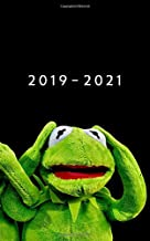 2019 - 2021: Weekly Planner Starting October 2019 - September 2021 | 5 x 8 Dated Agenda | 24 Month Appointment Calendar | Organizer Book | Soft-Cover Kermit The Frog