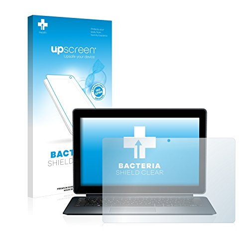 upscreen Antibakterielle Schutzfolie kompatibel mit Medion Akoya P3401T (MD 60294) klare Bildschirmschutz-Folie