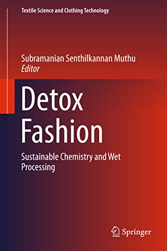Detox Fashion: Sustainable Chemistry and Wet Processing (Textile Science and Clothing Technology) (English Edition)