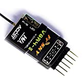 Part & Accessories V8R4-II 2.4GHz 4Channels RX Receiver Compatible with Hitec V8R4