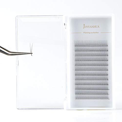 Faux cils naturels doux en 2D chaque boîte extensions de cils de vison fabriqués à la main de qualité supérieure faux cils faux cils (Color : A, Taille : 14mm)