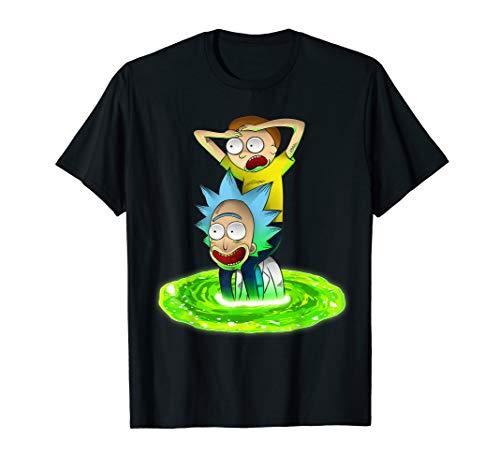 Rick and Morty Shirt Seeking New Adventure T-Shirt T-Shirt