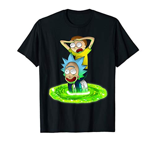 Rick and Morty Shirt Seeking New Adventure T-Shirt T-Shirt