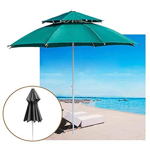 FCXBQ Parasol de Table de Patio Sunbrella UPF 50+ Premium Umbrella de Table d'extérieur avec manivelle, Plusieurs Tailles (6,8/8,8 pi)