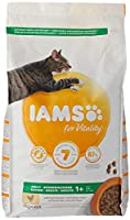 Cat food with 87 percent of animal protein to support seven signs of healthy vitality Adult and senior cat food with 87 percent of animal protein to support seven signs of healthy vitality Wheat free pet food with no fillers, artificial colours, flav...