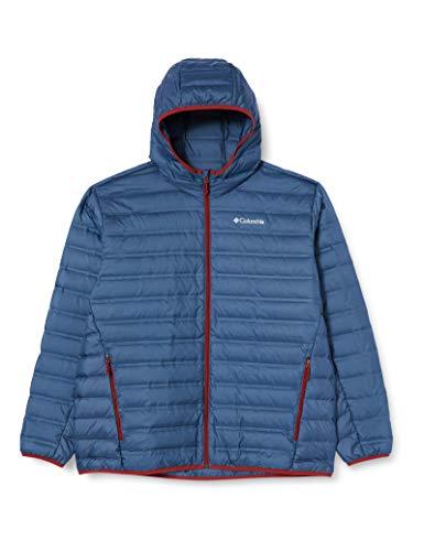 Columbia Daunenjacke mit Kapuze für Herren, Lake 22 Downn Hooded Insulated Jacket, Polyester, Blau (Dark Mountain), Gr. XL, WO0840