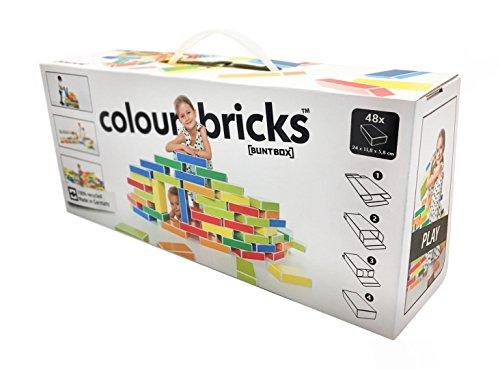Buntbox M – Juegos de construcción Ladrillos cartón, BB4