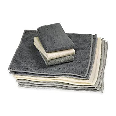 The Original 12  x 12  Microfiber Cleaning Towels, Set of 10