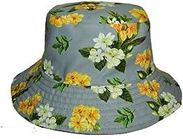 Coreteq Printed Reversible Two Way Bucket Hat Unisex Sun Protection