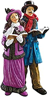 christmas carolers figurines outdoor