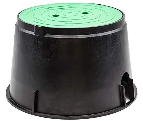 Riegolux 14870 Arqueta Circular Grande 2 o 3 Válvulas con Tapa