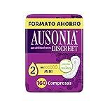 Ausonia Discreet - Compresas Mini para Pérdidas de Orina, 160 unidades