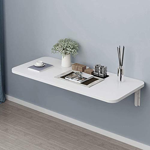 Wall-Mounted Floor-Standing Computer Desk/Foldable Table/Kitchen Wall-Mounted Dining Table/Simple Modern Bedroom Hanging Mini Narrow Table Board,80 * 30