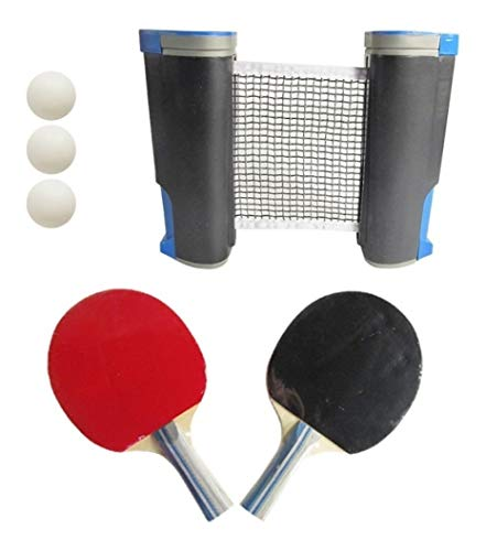 Purchase DRB All-in-one Ping Pong Set | Retractable Anywhere Portable Adjustable Table Tennis Net fo...