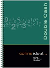 Collins Ideal A4 Wiro Bound Double Cash Notebook (120 Pages)