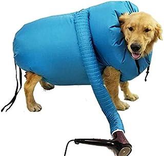 ペット乾燥箱 バスグッズ お風呂後 速乾 通気 軽量 猫 犬 兼用 乾燥ケース 毛深い犬 コーギー 柴犬 ゴールデンレトリバーペット乾燥袋 鹿皮タオルを一本送り ドライヤー付かない