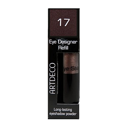 Artdeco Eye Designer Refill, Lidschatten, Nachfüllung, 17, dark wood, 1er Pack (1 x 9 g)