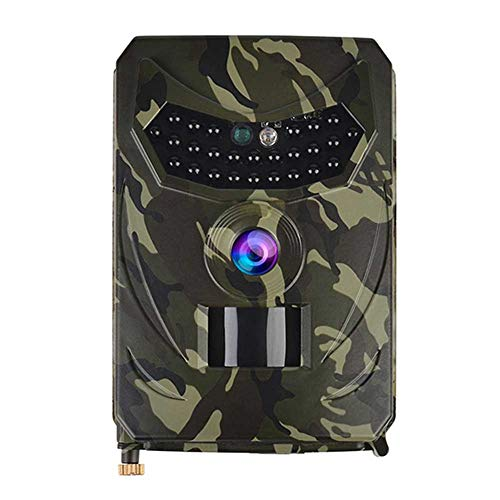 Fayeille Wildkamera, 1080P Trail Game Kameras mit Nachtsicht, wasserdicht, für Outdoor-Wildtiere, Garten, Pfadfinder, nicht null, Os15232a1, Free Size