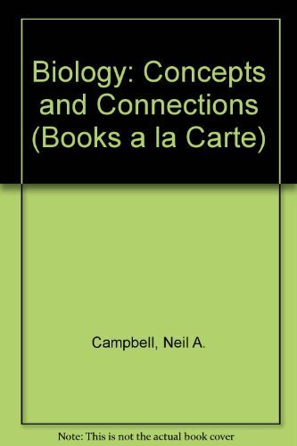 Biology: Concepts and Connections, Books a la Carte Plus Study Card (6th Edition)
