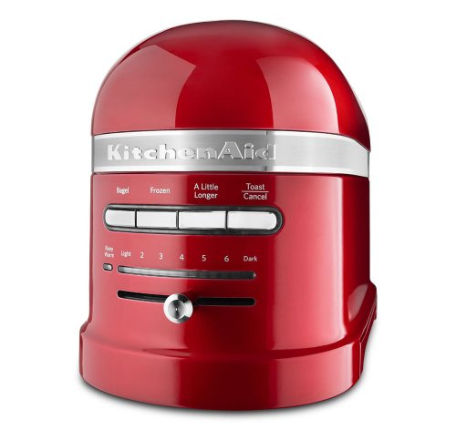 KitchenAid KMT2203CA Toaster - Candy Apple Red Pro Line Toaster
