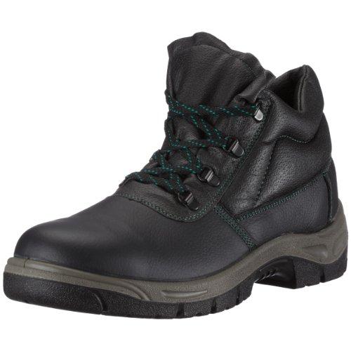 Unbekannt Sicherheits-Schnürstiefel Sicherheits-Stiefel Rostock ÜK EN ISO 20345 S3 SRA - Weite 10,5 - schwarz - Größe: 44