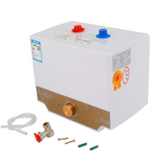 BTdahong 30-75°C Warmwasserbereiter Durchlauferhitzer Boiler Warmwasserspeicher 1500W/220V, Korrosionsschutz Wasserdicht Compact Energieeffizient 8L