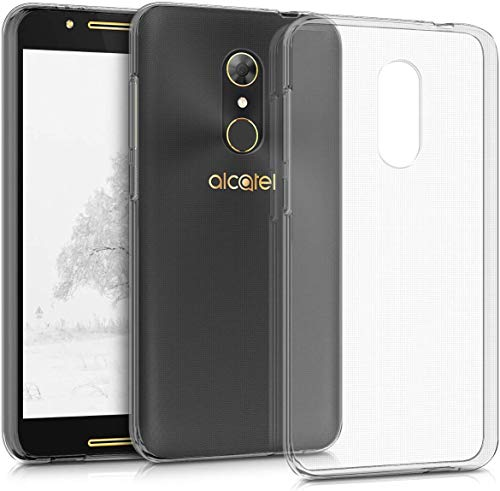 Voviqi Hülle für Alcatel A7, Hülle für Alcatel A7 Handyhülle für Alcatel A7- Crystal Clear Ultra Dünn Durchsichtige Silikon Schutzhülle TPU Case für Alcatel A7, Transparent