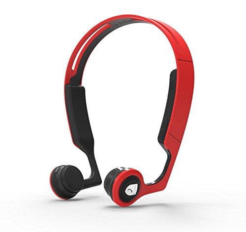 HXZB Bluetooth headset, draadloos, handsfree, hoofdtelefoon, oorbeschermer, dual HD, microfoon, ruisonderdrukking, voor winkels/auto/kantoor, zwart