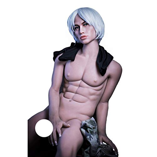 WM Male Silicone Sex Doll 175cm 5ft74 with Electric Dildo Mouth and Anus Opening Eric
