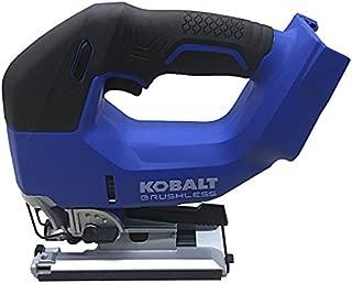 Kobalt KJS 324B-03 24-Volt Max Variable Speed Keyless Cordless Jigsaw, Blue/Black