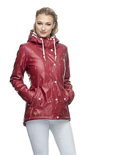 Ragwear W Marge Marina Rot, Damen Regenjacke, Größe XS - Farbe Red