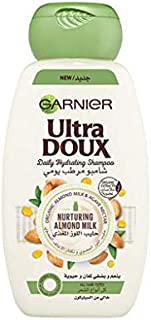 Garnier Ultra Doux Hydrating Shampoo With Almond Milk & Agave Nectar, 200 ml