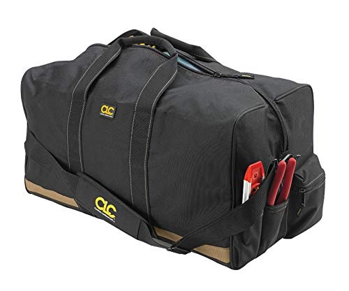 CLC Custom Leathercraft 1111 24 in. All Purpose Construction Gear Bag with 7 Outside Pockets