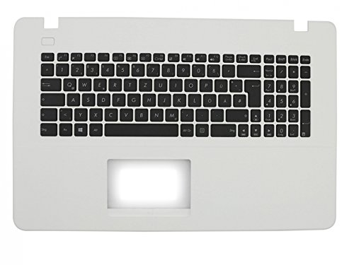 ASUS F751SA Original Tastatur inkl. Topcase DE (deutsch) schwarz/weiß