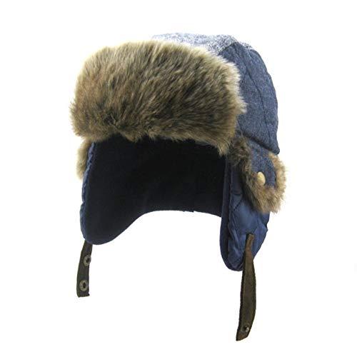 Sombrero de Bombardero de Invierno para niños, Sombrero de Vaquero a Prueba...