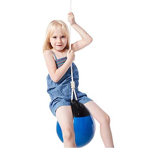 winnerruby Balón de balancín de PVC para niños con Cuerda Duradera y Fuerte, Popular Bola de suspensión, Bola de suspensión, para niños Mayores de 3 años