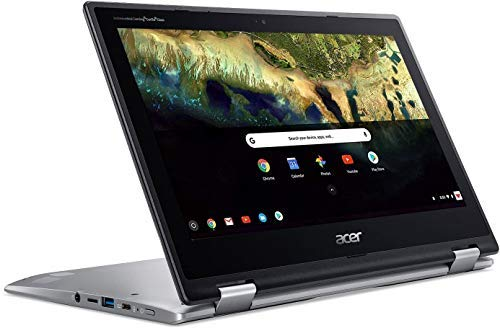 Acer Chromebook Spin 11.6' HD Touch Screen 2-in-1 Convertible Laptop, Intel Celeron N3350 up to 2.4GHz, 4GB DDR4, 32GB eMMC, Webcam, Oline Class Ready, Google Chrome OS, TWE Micro 64GB SD Card